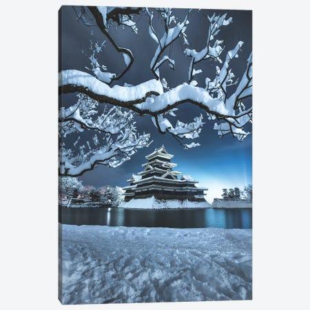 Matsumoto Castle VI Canvas Print #DUE30} by Daisuke Uematsu Canvas Art