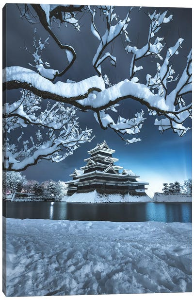 Matsumoto Castle VI Canvas Art Print