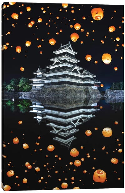Matsumoto Castle VII Canvas Art Print