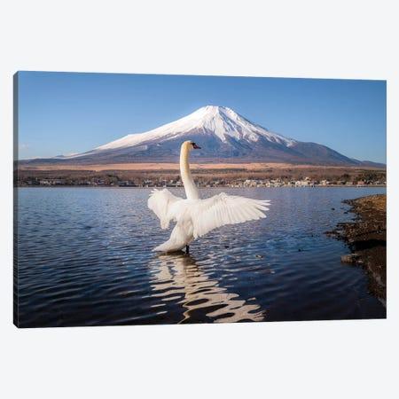 Mount Fuji I Canvas Print #DUE33} by Daisuke Uematsu Canvas Artwork