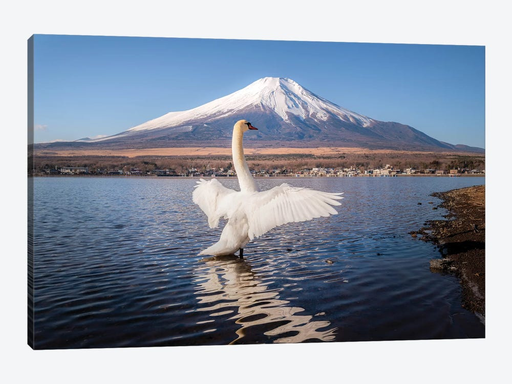 Mount Fuji I by Daisuke Uematsu 1-piece Canvas Print