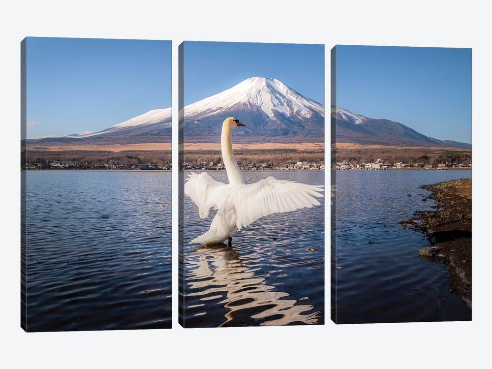 Mount Fuji I by Daisuke Uematsu 3-piece Canvas Print