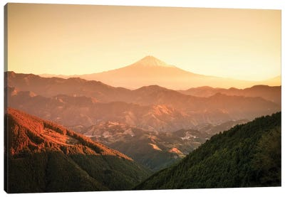 Mount Fuji III Canvas Art Print