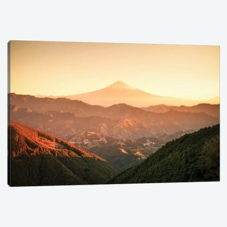 Mount Fuji III Canvas Print #DUE35} by Daisuke Uematsu Canvas Print