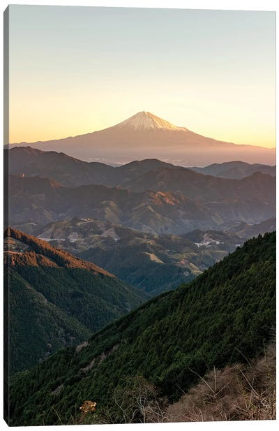 Mount Fuji IV Canvas Art Print