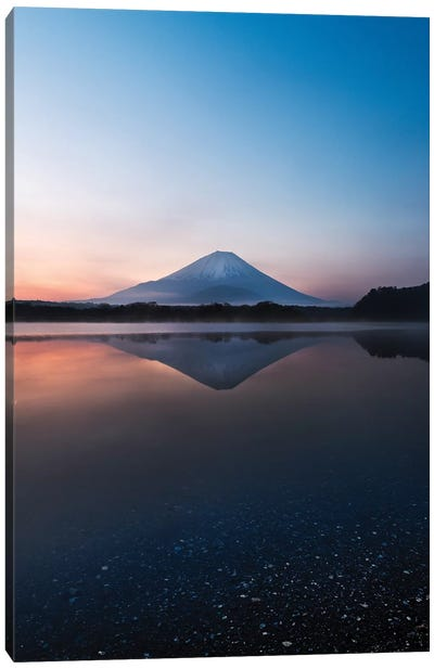 Mount Fuji V Canvas Art Print