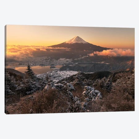 Mount Fuji VI Canvas Print #DUE38} by Daisuke Uematsu Canvas Art