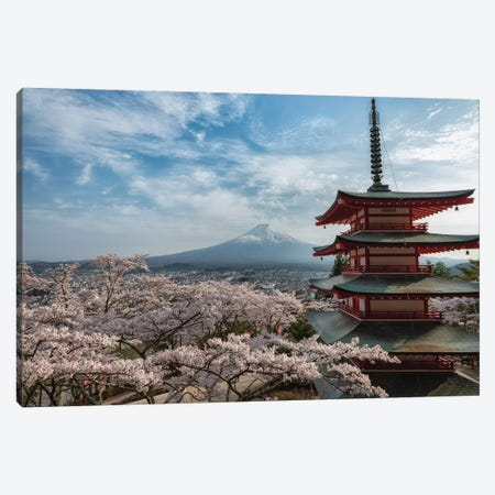 Mount Fuji XIII Canvas Print #DUE45} by Daisuke Uematsu Canvas Art