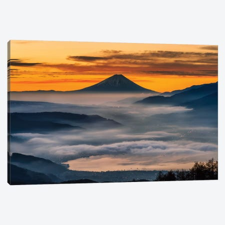 Mount Fuji XIV Canvas Print #DUE46} by Daisuke Uematsu Canvas Wall Art