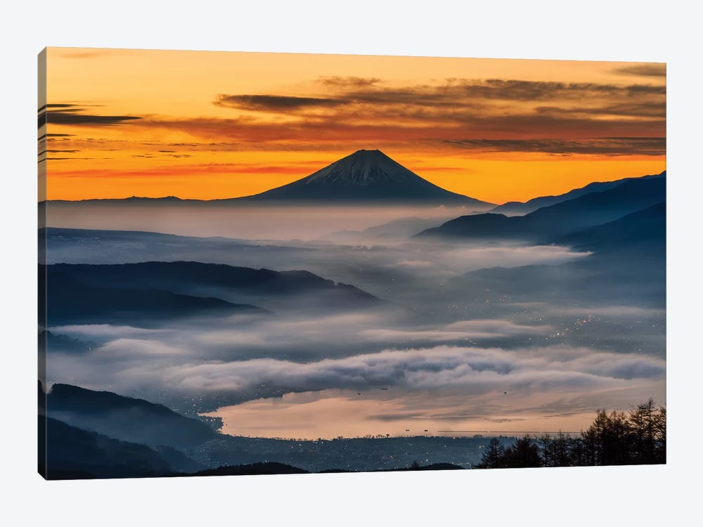 Mount Fuji XIV by Daisuke Uematsu 1-piece Art Print