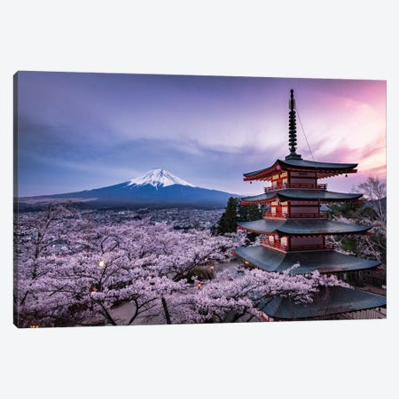 Mount Fuji XV Canvas Print #DUE47} by Daisuke Uematsu Canvas Artwork