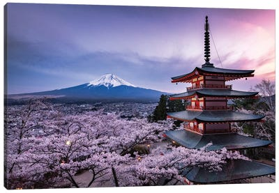 Mount Fuji XV Canvas Art Print
