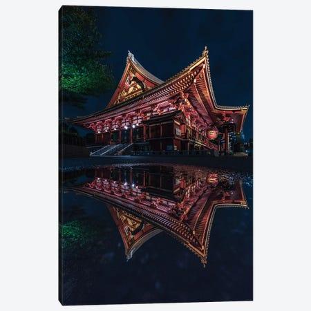 Senso-ji, Asakusa, Tokyo Canvas Print #DUE49} by Daisuke Uematsu Canvas Art Print