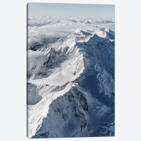 Southern Alps, New Zealand Canvas Print #DUE50} by Daisuke Uematsu Canvas Wall Art
