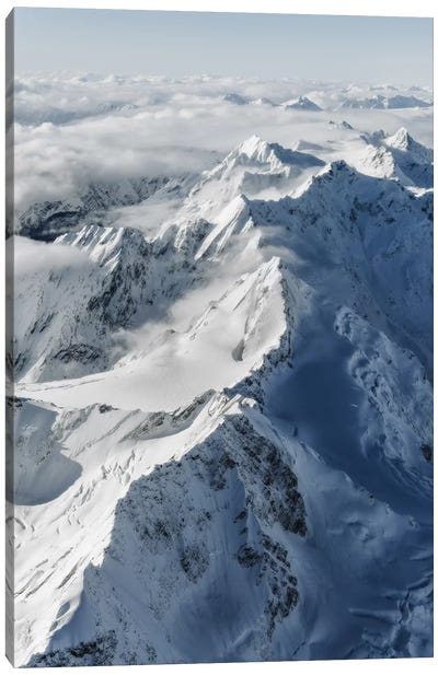 Southern Alps, New Zealand Canvas Art Print