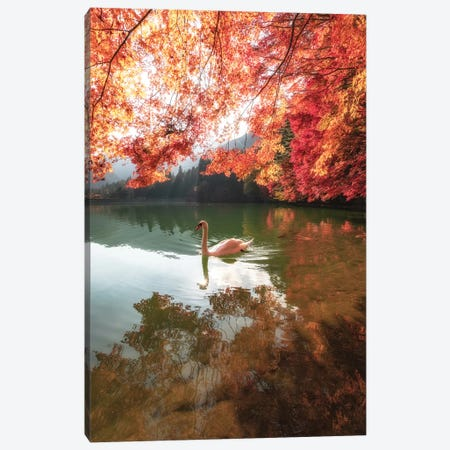 Autumn In Japan V Canvas Print #DUE5} by Daisuke Uematsu Art Print