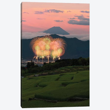 Summer In Japan IV Canvas Print #DUE72} by Daisuke Uematsu Canvas Artwork