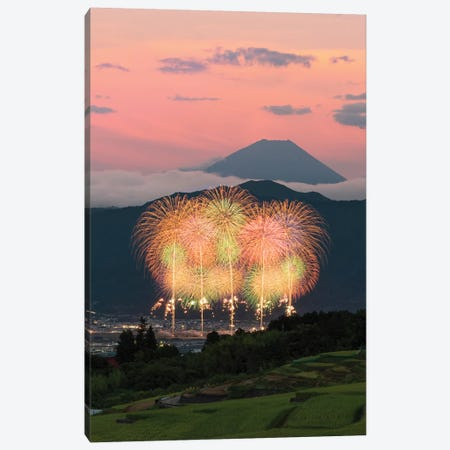 Summer In Japan V Canvas Print #DUE73} by Daisuke Uematsu Canvas Artwork