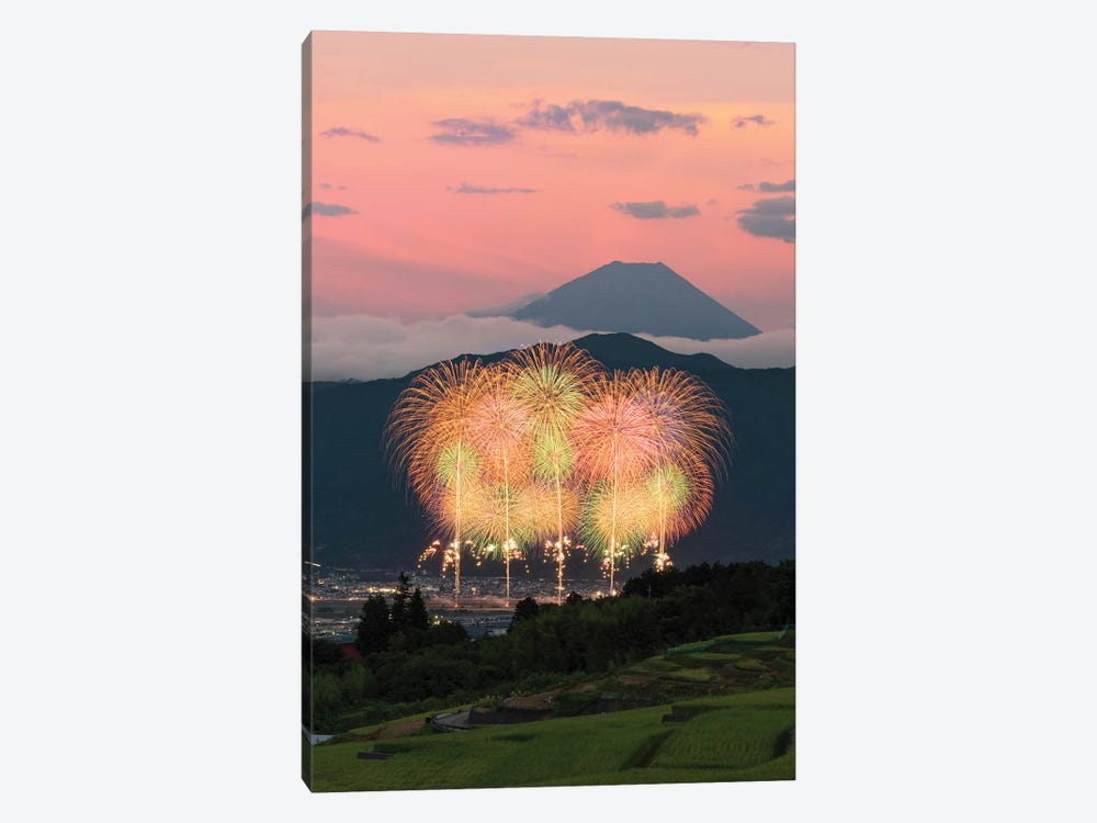 Summer In Japan V 1-piece Canvas Print