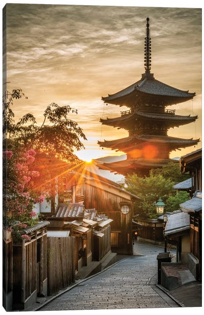 Summer In Japan VIII Canvas Art Print
