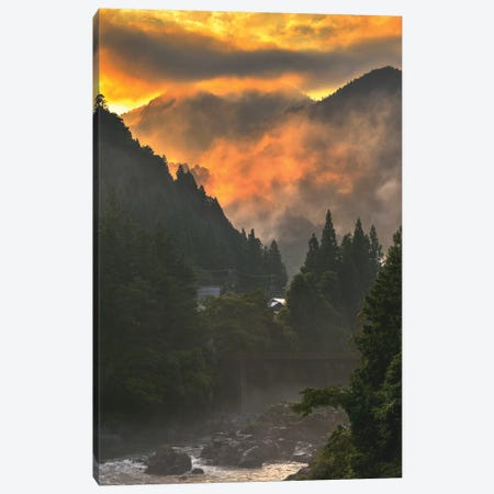 Summer In Japan XI Canvas Print #DUE78} by Daisuke Uematsu Canvas Wall Art