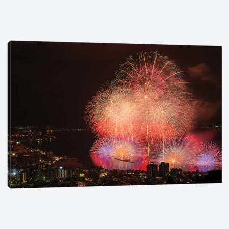 Summer In Japan XII Canvas Print #DUE79} by Daisuke Uematsu Canvas Art