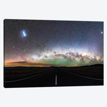 Tekapo Milky Way, New Zealand Canvas Print #DUE81} by Daisuke Uematsu Art Print