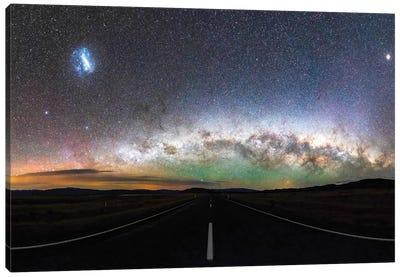 Tekapo Milky Way, New Zealand Canvas Art Print