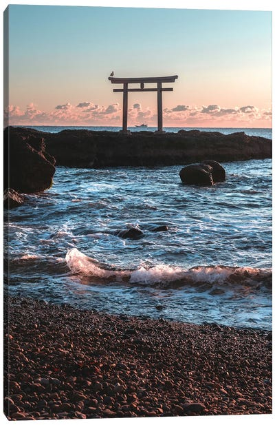 Torii Of Japan I Canvas Art Print