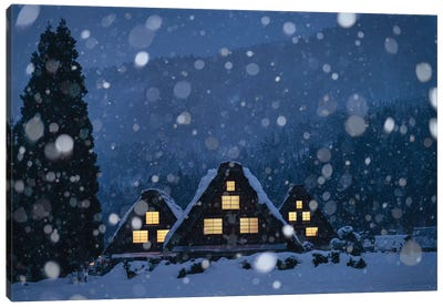 Winter In Japan IV Canvas Art Print