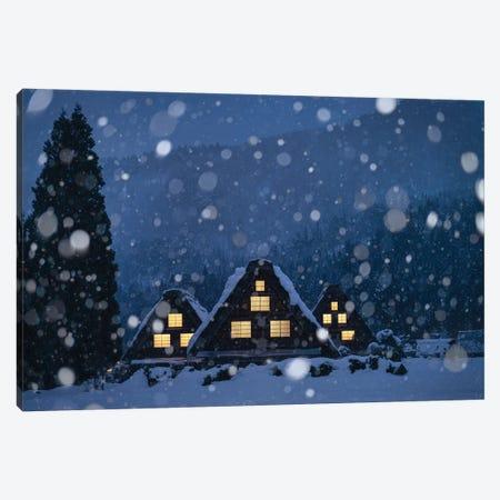 Winter In Japan IV Canvas Print #DUE87} by Daisuke Uematsu Canvas Art