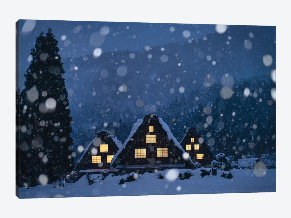 Winter In Japan IV by Daisuke Uematsu 1-piece Canvas Art