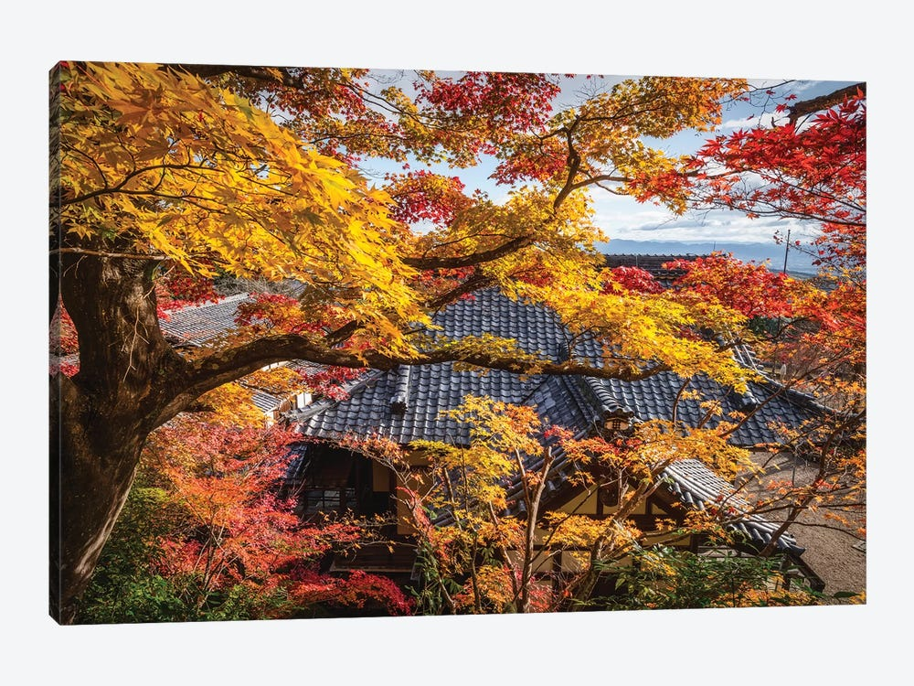 Autumn In Japan XXIV 1-piece Canvas Art Print