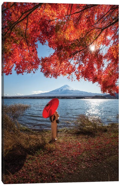 Autumn In Japan XXIX Canvas Art Print