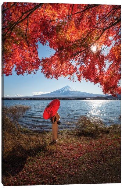 Autumn In Japan XXIX Canvas Art Print