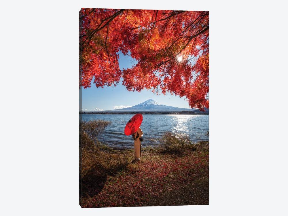 Autumn In Japan XXIX by Daisuke Uematsu 1-piece Canvas Wall Art
