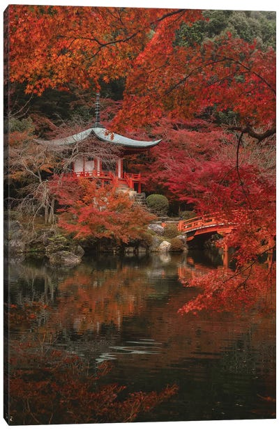 Autumn In Japan XXX Canvas Art Print