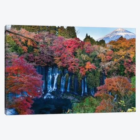 Autumn In Japan IX Canvas Print #DUE9} by Daisuke Uematsu Canvas Art
