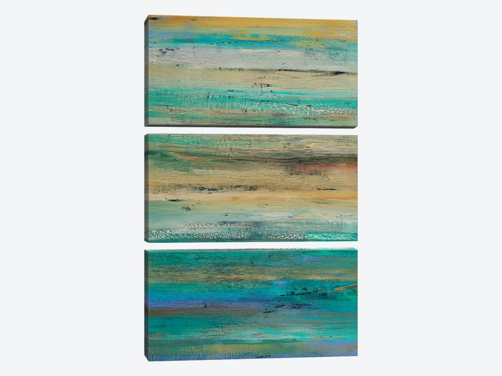 Echoes And Resonance by Alicia Dunn 3-piece Canvas Print