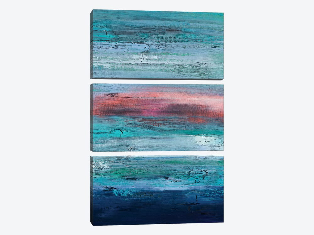 Engaging Mystery by Alicia Dunn 3-piece Canvas Artwork