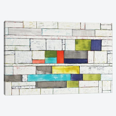 Moving Parts Canvas Print #DUN130} by Alicia Dunn Canvas Art