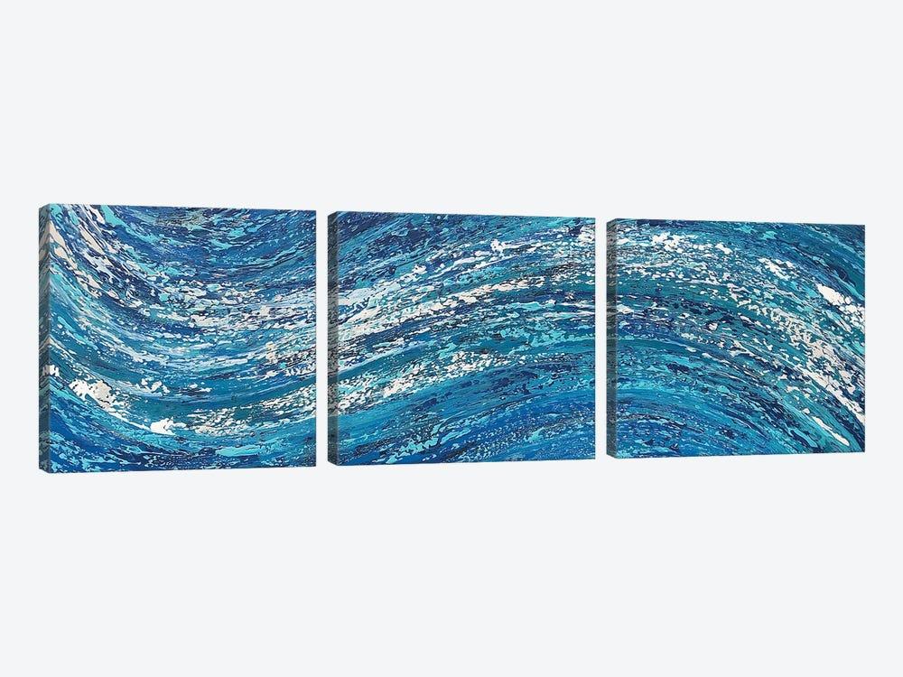 Ecstatic Motion II by Alicia Dunn 3-piece Art Print