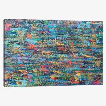 Nothing's Ever Simple Canvas Print #DUN147} by Alicia Dunn Canvas Artwork