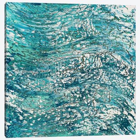 Feel The Rush Canvas Print #DUN14} by Alicia Dunn Canvas Artwork