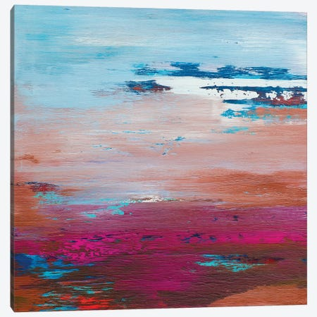 In The Pale Sky Canvas Print #DUN22} by Alicia Dunn Canvas Artwork