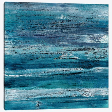 Indigo Dreams Canvas Print #DUN24} by Alicia Dunn Art Print