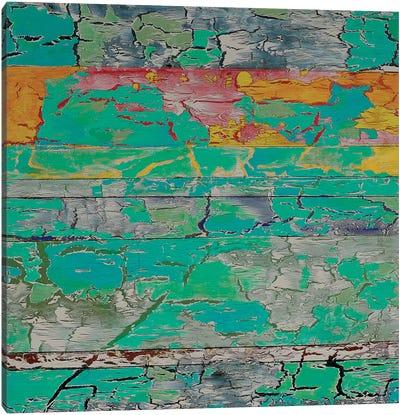 Jukung Canvas Art Print