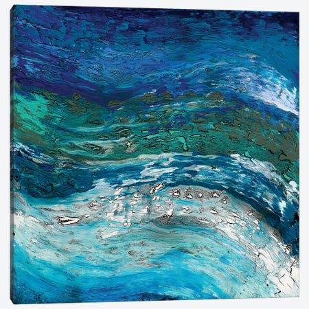 Wave After Wave II Canvas Print #DUN51} by Alicia Dunn Art Print