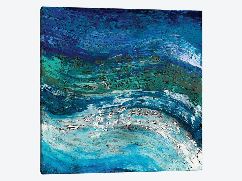 Wave After Wave II by Alicia Dunn 1-piece Canvas Art