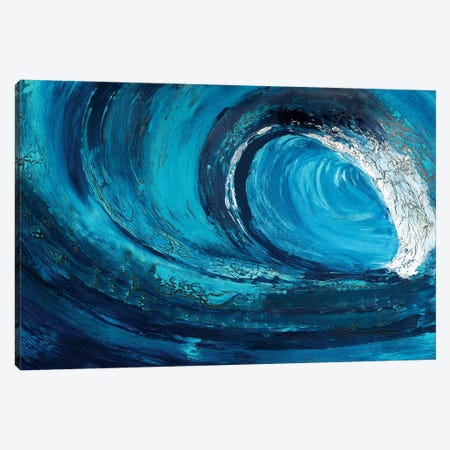 Whiplash Canvas Print #DUN53} by Alicia Dunn Canvas Art Print